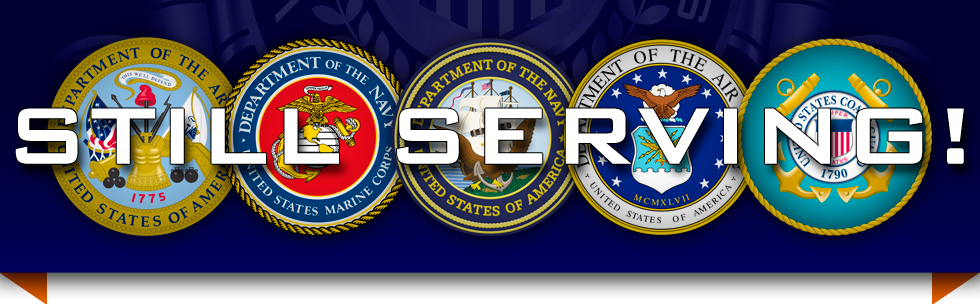 Still Serving - US Armed Forces Seals