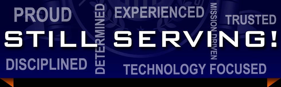 Still Serving - proud experienced